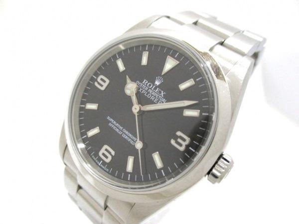 ROLEX(ロレックス) 腕時計 エクスプローラー1 114270 メンズ 黒 0