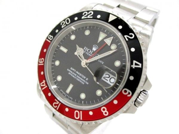 ROLEX(ロレックス) 腕時計 GMTマスター2 16710 メンズ 黒 0