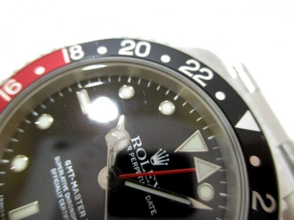 ROLEX(ロレックス) 腕時計 GMTマスター2 16710 メンズ 黒 9