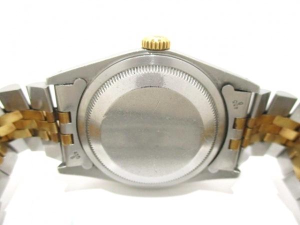 ロレックス 腕時計 デイトジャスト 16233 メンズ シャンパンゴールド 3