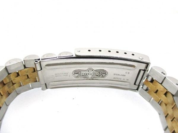 ロレックス 腕時計 デイトジャスト 16233 メンズ シャンパンゴールド 4