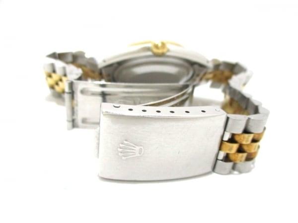 ロレックス 腕時計 デイトジャスト 16233 メンズ シャンパンゴールド 5