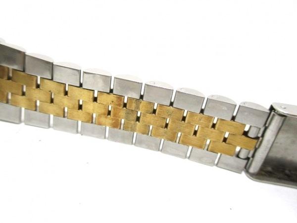 ロレックス 腕時計 デイトジャスト 16233 メンズ シャンパンゴールド 6