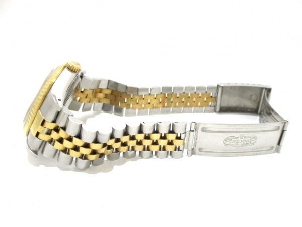 ロレックス 腕時計 デイトジャスト 16233 メンズ シャンパンゴールド 7
