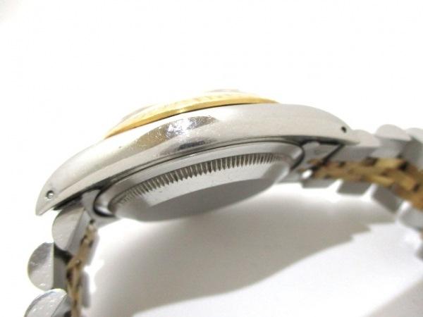 ロレックス 腕時計 デイトジャスト 16233 メンズ シャンパンゴールド 8
