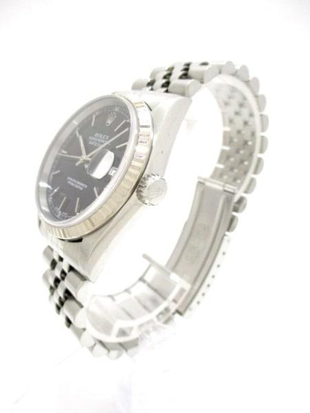 ROLEX(ロレックス) 腕時計 デイトジャスト 16234 ユニセックス 黒 2