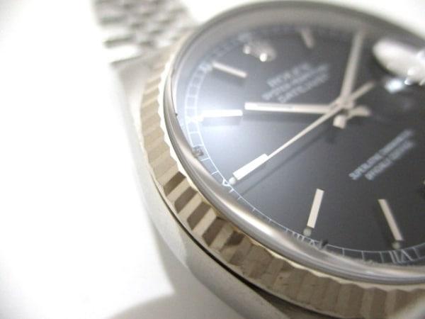ROLEX(ロレックス) 腕時計 デイトジャスト 16234 ユニセックス 黒 8