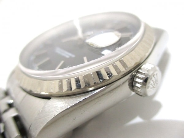 ROLEX(ロレックス) 腕時計 デイトジャスト 16234 ユニセックス 黒 9