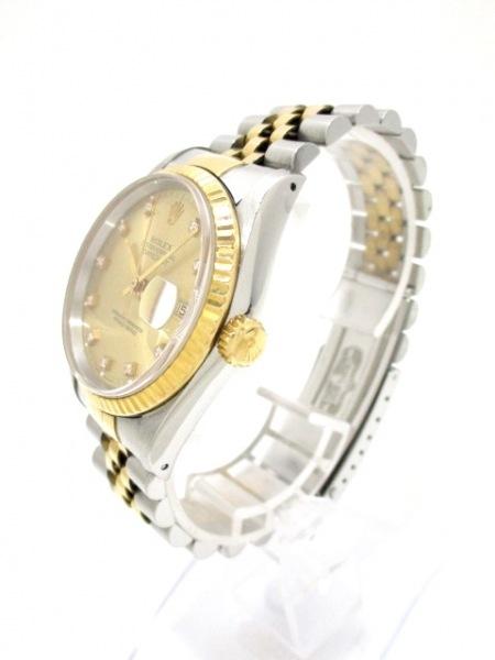 ROLEX(ロレックス) 腕時計 デイトジャスト 16233G メンズ 2