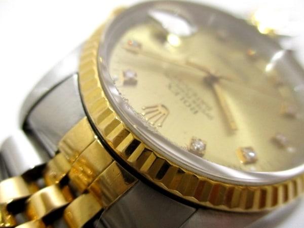 ROLEX(ロレックス) 腕時計 デイトジャスト 16233G メンズ 8
