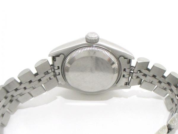 ROLEX(ロレックス) 腕時計 デイトジャスト 79174 レディース 黒 3