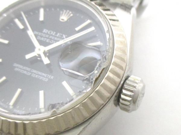 ROLEX(ロレックス) 腕時計 デイトジャスト 79174 レディース 黒 8