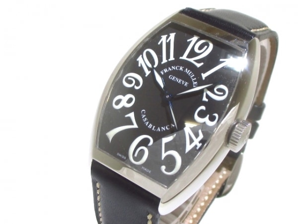 フランクミュラー 腕時計 カサブランカ 5850 メンズ 黒 0