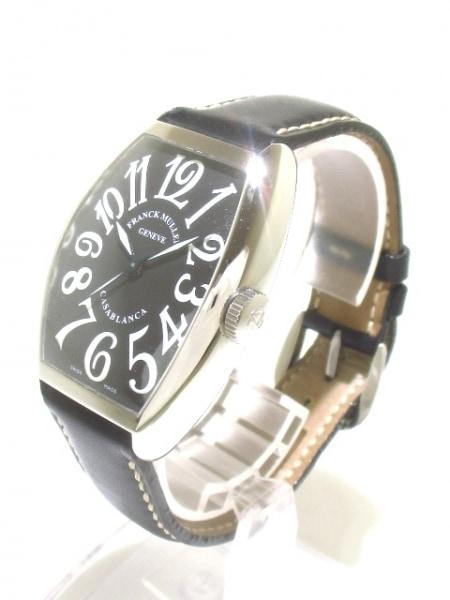 フランクミュラー 腕時計 カサブランカ 5850 メンズ 黒 2