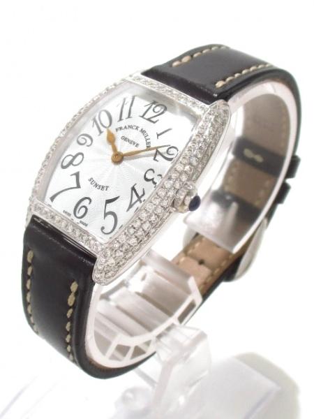 フランクミュラー 腕時計 トノーカーベックスサンセット 1752QZD 2