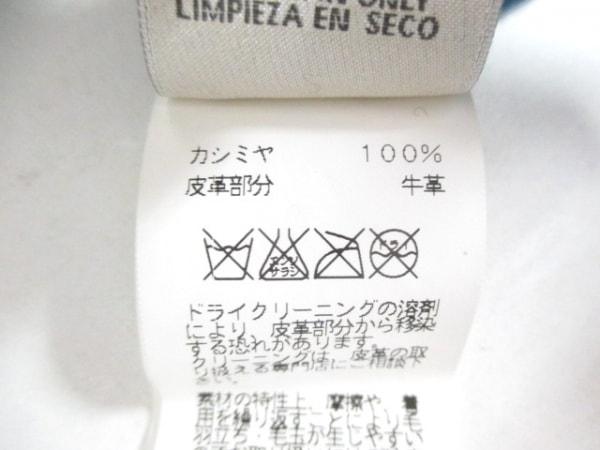エルメス 長袖セーター サイズL メンズ ネイビー×グレー×黒 4