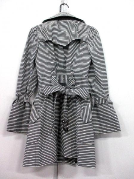 バーバリーブルーレーベル コート サイズ38 M レディース 黒×白 2