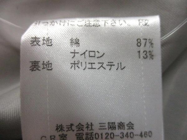 バーバリーブルーレーベル コート サイズ38 M レディース 黒×白 4