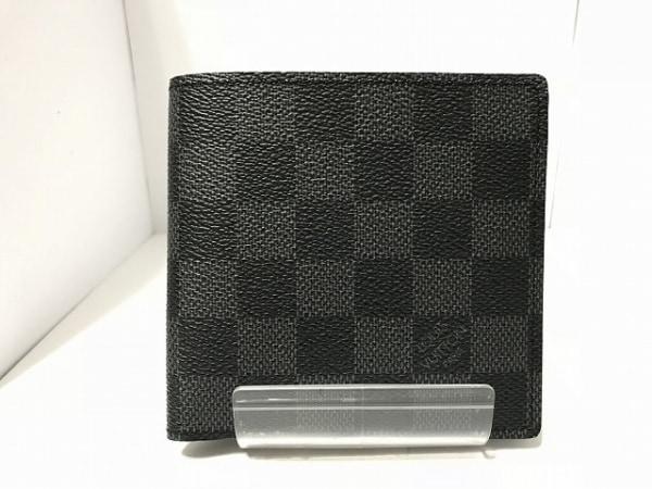 ルイヴィトン 2つ折り財布 ダミエグラフィット N62664 0
