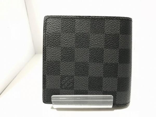 ルイヴィトン 2つ折り財布 ダミエグラフィット N62664 2