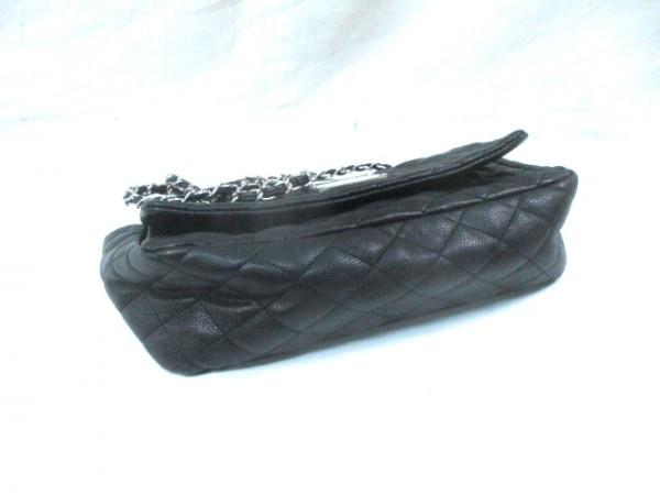 セシルマクビー ショルダーバッグ 黒×シルバー 合皮×金属素材 4