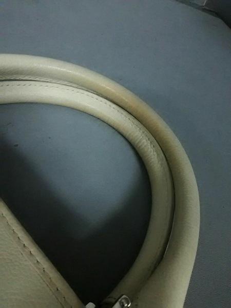 LOEWE(ロエベ) トートバッグ美品  フスタ アイボリー レザー 7