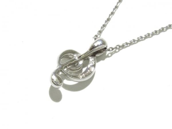 PonteVecchio(ポンテヴェキオ) ネックレス美品  K18WG×ダイヤモンド 3