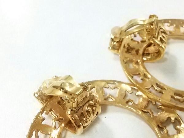 CHANEL(シャネル) イヤリング美品  金属素材 ゴールド ココマーク 3