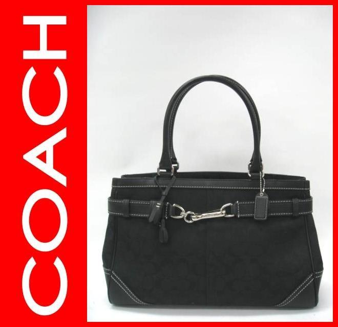 COACH(コーチ)のシグネチャーラージキャリオールトート