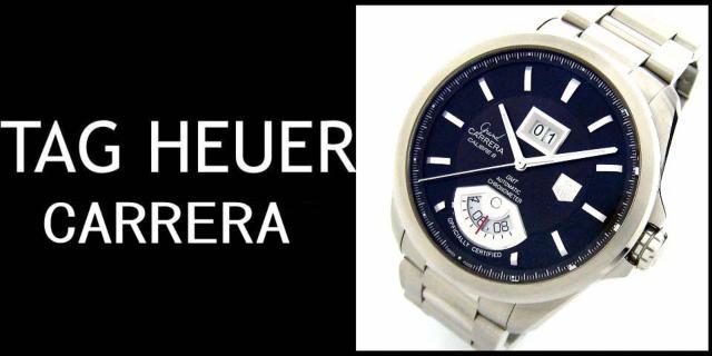 TAG Heuer(タグホイヤー)のグランドカレラ キャリバー8 GMT