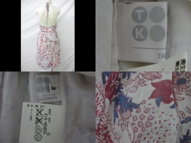 TK (TAKEOKIKUCHI)(ティーケータケオキクチ)のワンピース