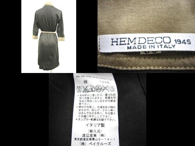 HEMDECO(エムデコ)のワンピース