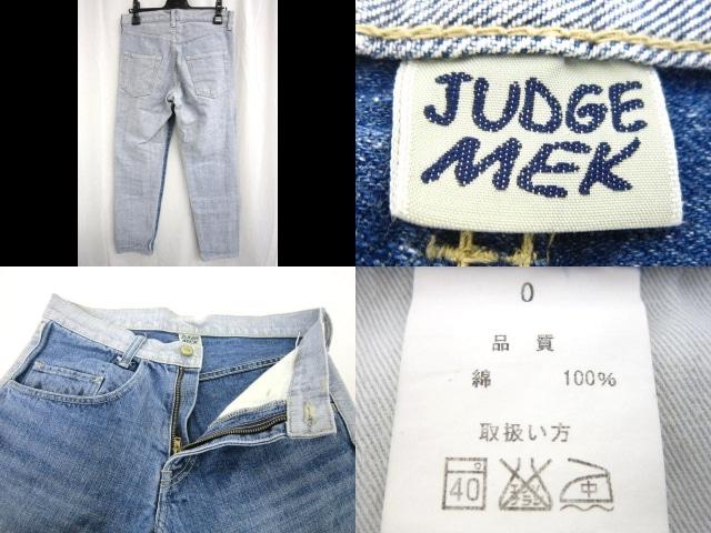 JUDGEMEK(ジョジメック)のジーンズ