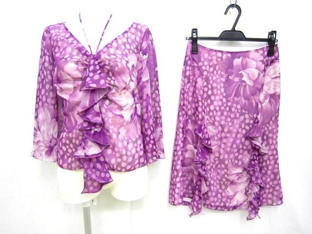 NOVESPAZIO(ノーベスパジオ)のスカートスーツ