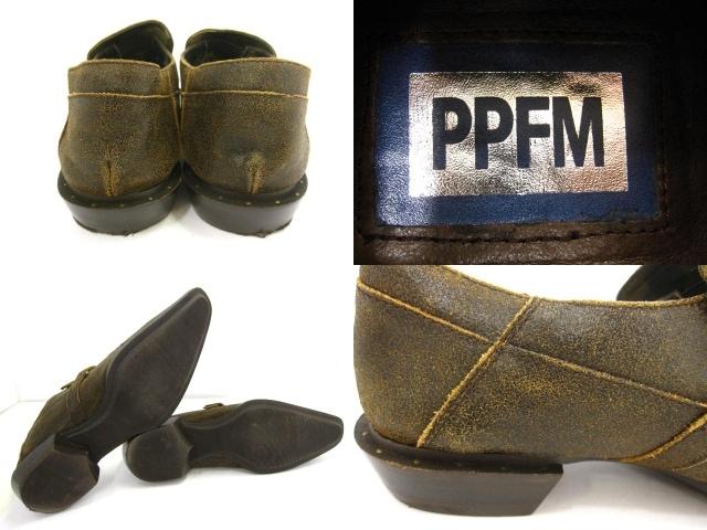 PPFM/PEYTONPLACEFORMEN(ピーピーエフエム)のシューズ