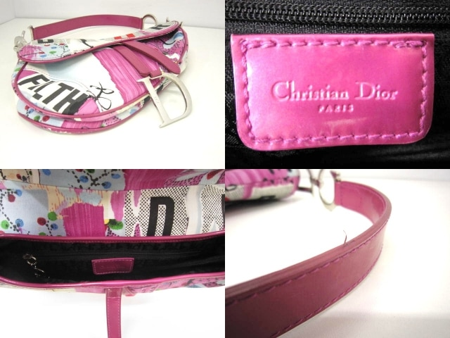 ChristianDior(クリスチャンディオール)のサドルバッグ