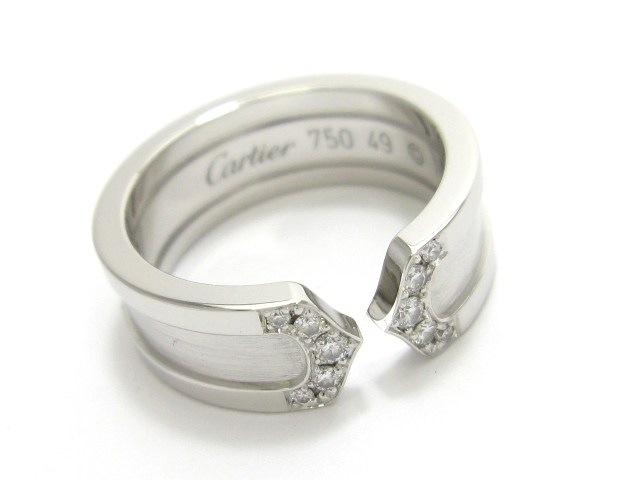 Cartier(カルティエ)のC2リングダイヤ