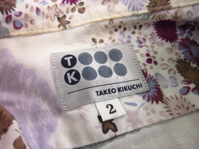 TK (TAKEOKIKUCHI)(ティーケータケオキクチ)のシャツ