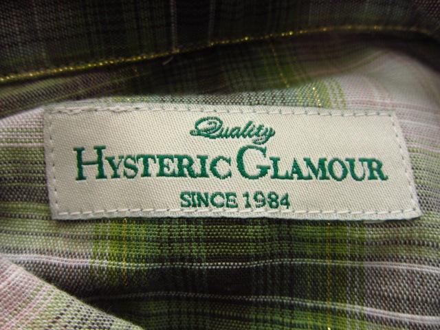 HYSTERIC GLAMOUR(ヒステリックグラマー)のシャツブラウス