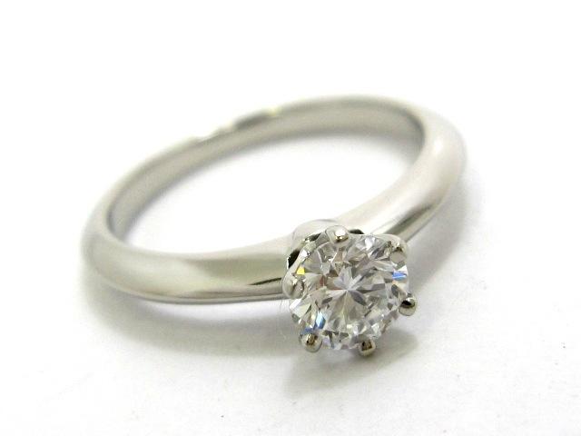 TIFFANY&Co.(ティファニー)のソリティアダイヤモンドリング