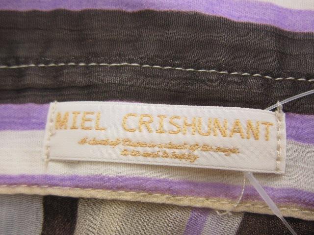 Miel Crishunant(ミエルクリシュナ)のシャツブラウス