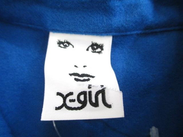 X-GIRL(エックスガール)のシャツブラウス