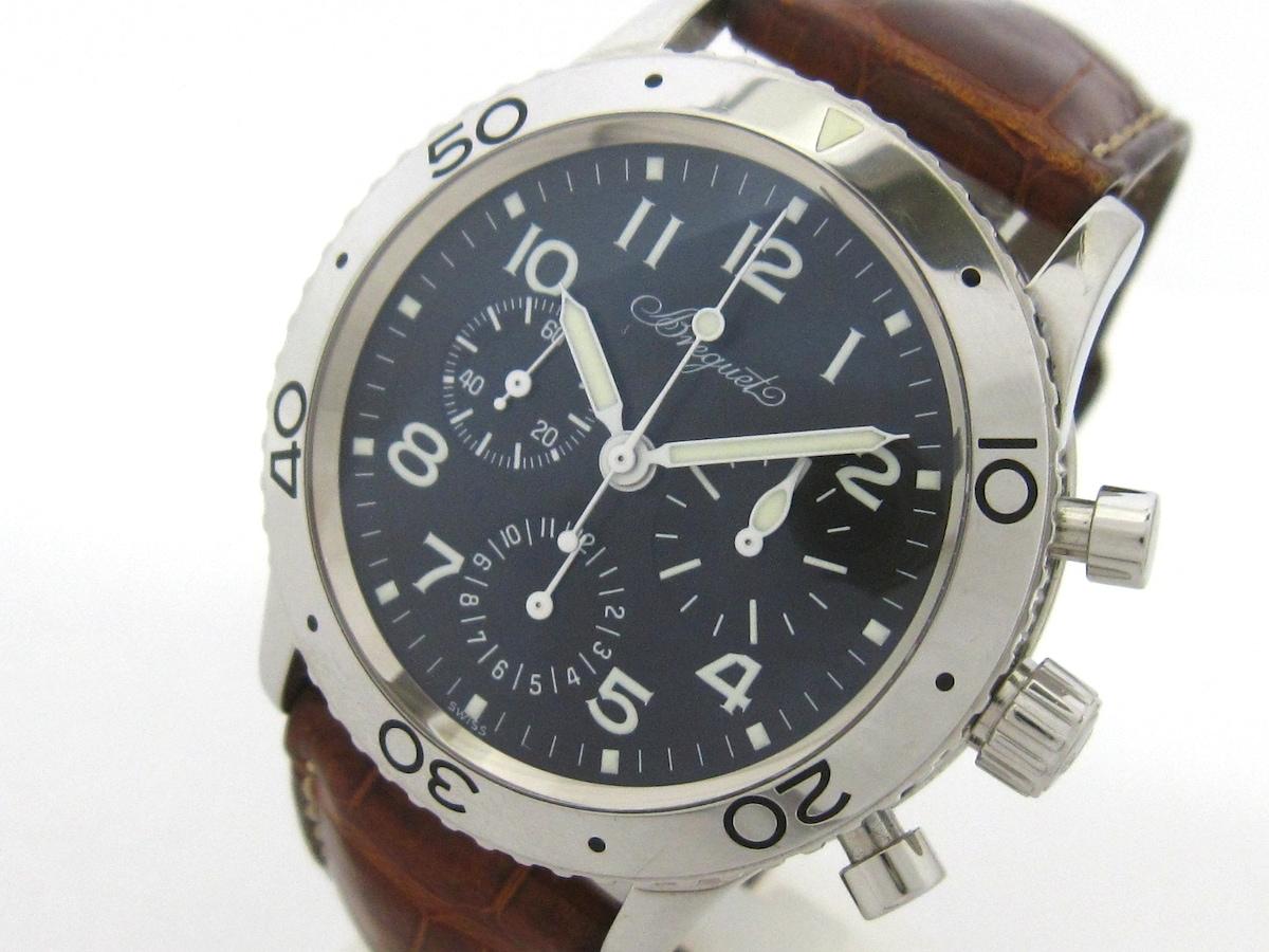 pretty nice ca9a5 55961 BREGUET(ブレゲ)/アエロナバル/腕時計/型番3800STの買取実績 ...