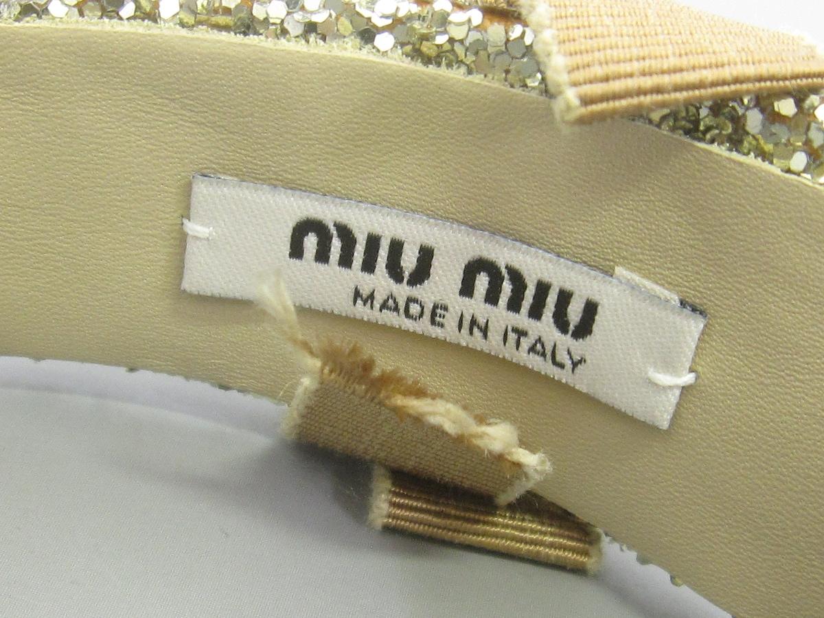 miumiu(ミュウミュウ)のその他アクセサリー