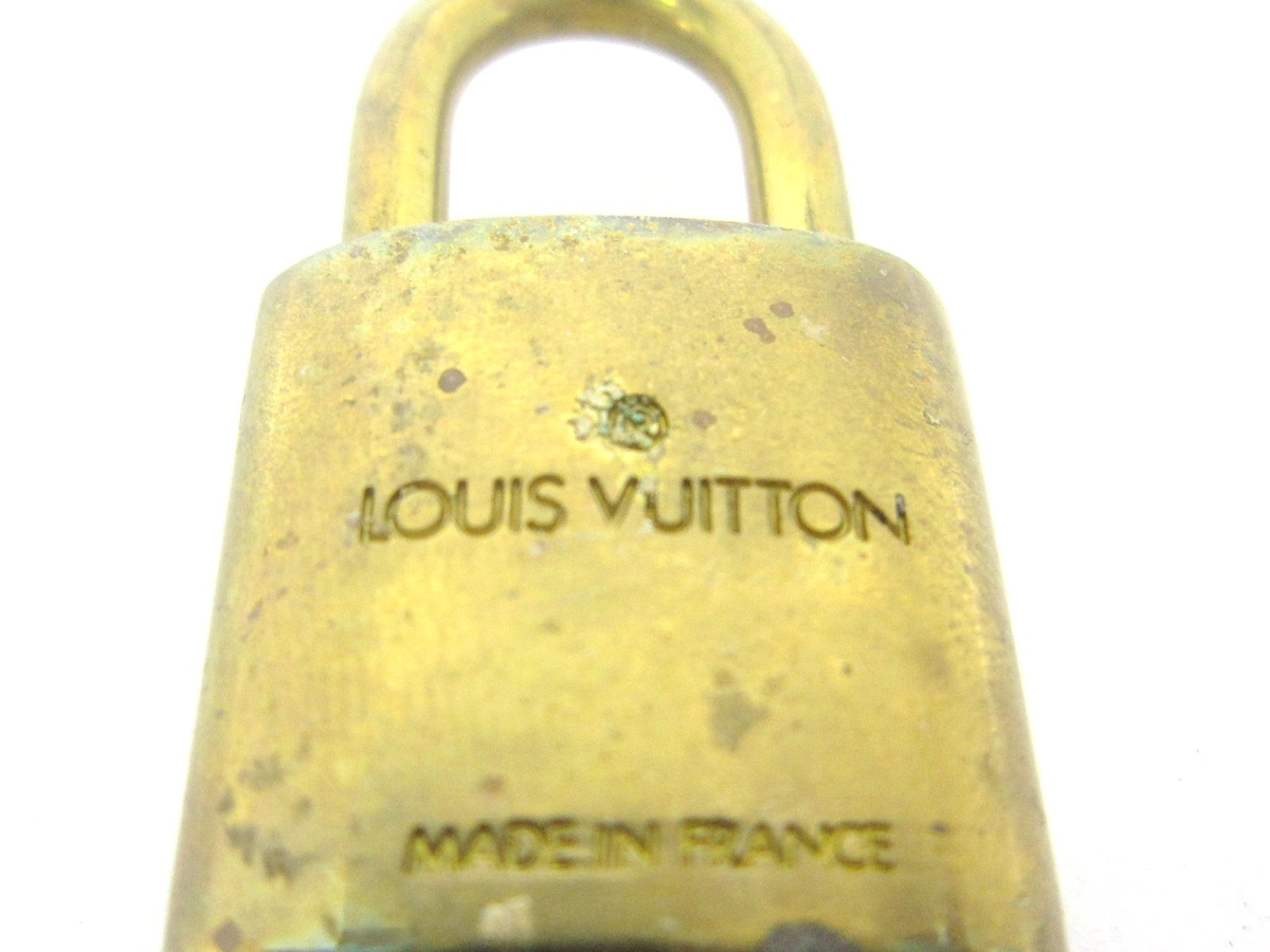 LOUIS VUITTON(ルイヴィトン)のパドロック