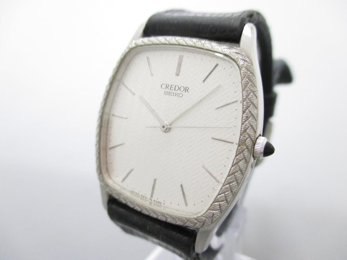 6697d0cfab SEIKO CREDOR(セイコークレドール)/腕時計/型番5931-5100の買取実績 ...