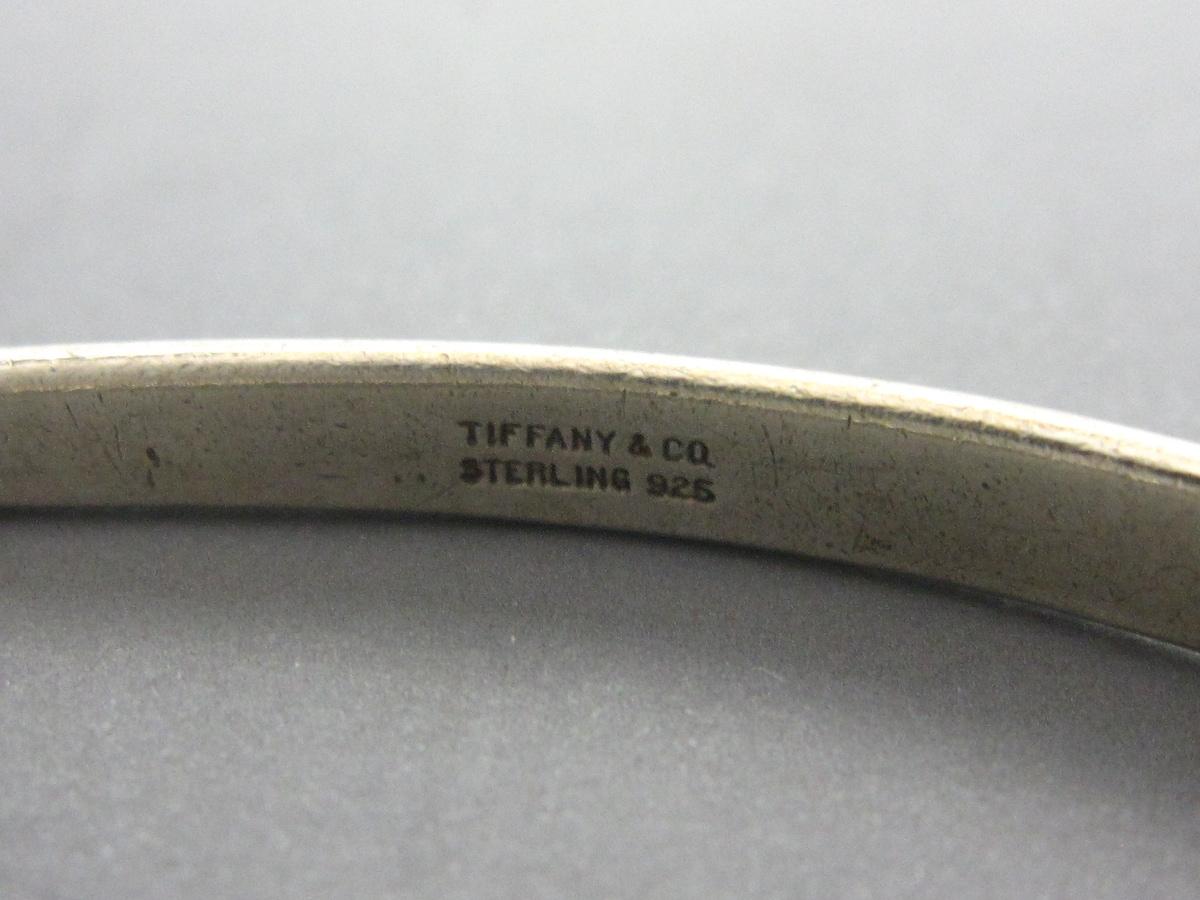 TIFFANY&Co.(ティファニー)のインターロッキングループスバングル