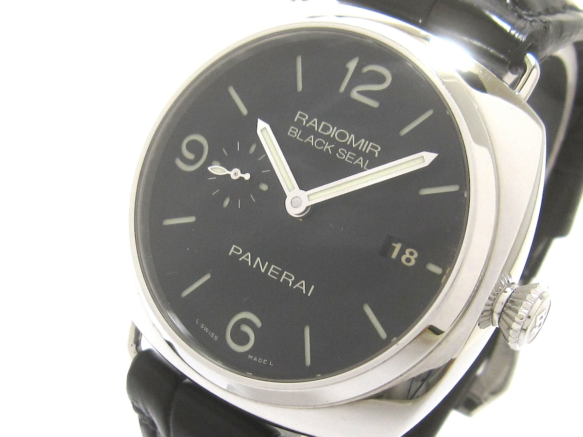 パネライ<br>ラジオミールブラックシール/PAM00388