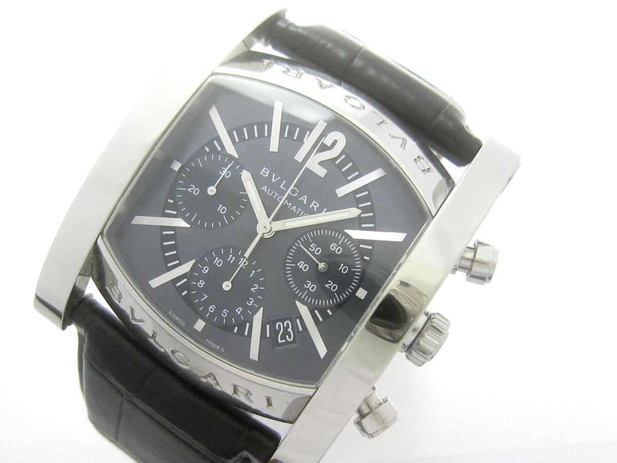 online store db01d 6a2f7 BVLGARI(ブルガリ)/アショーマクロノグラフ/腕時計/型番AA48SCH ...