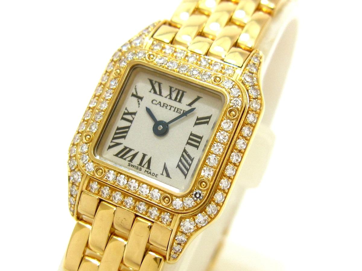 腕時計/ミニパンテール / WF3141B9 / 金無垢 / 2重ダイヤベゼル